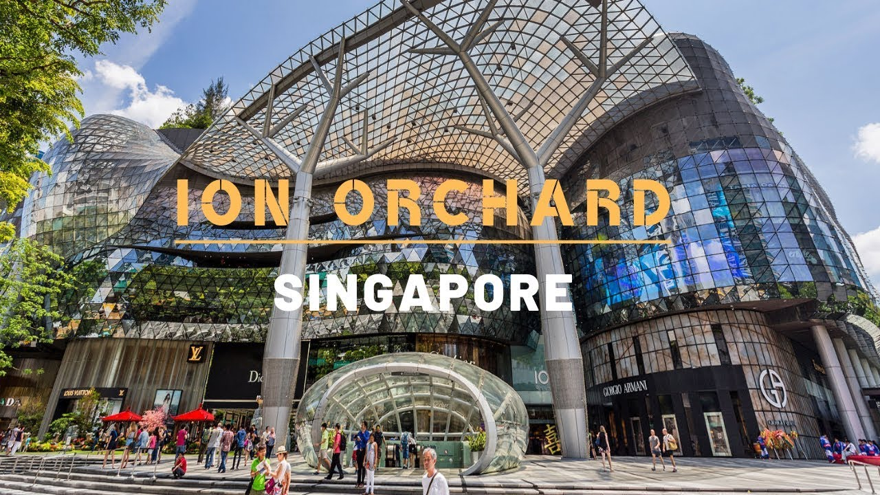 Ion Orchard Mall Singapore Shopping Guide Things To Do In Singapore Youtube