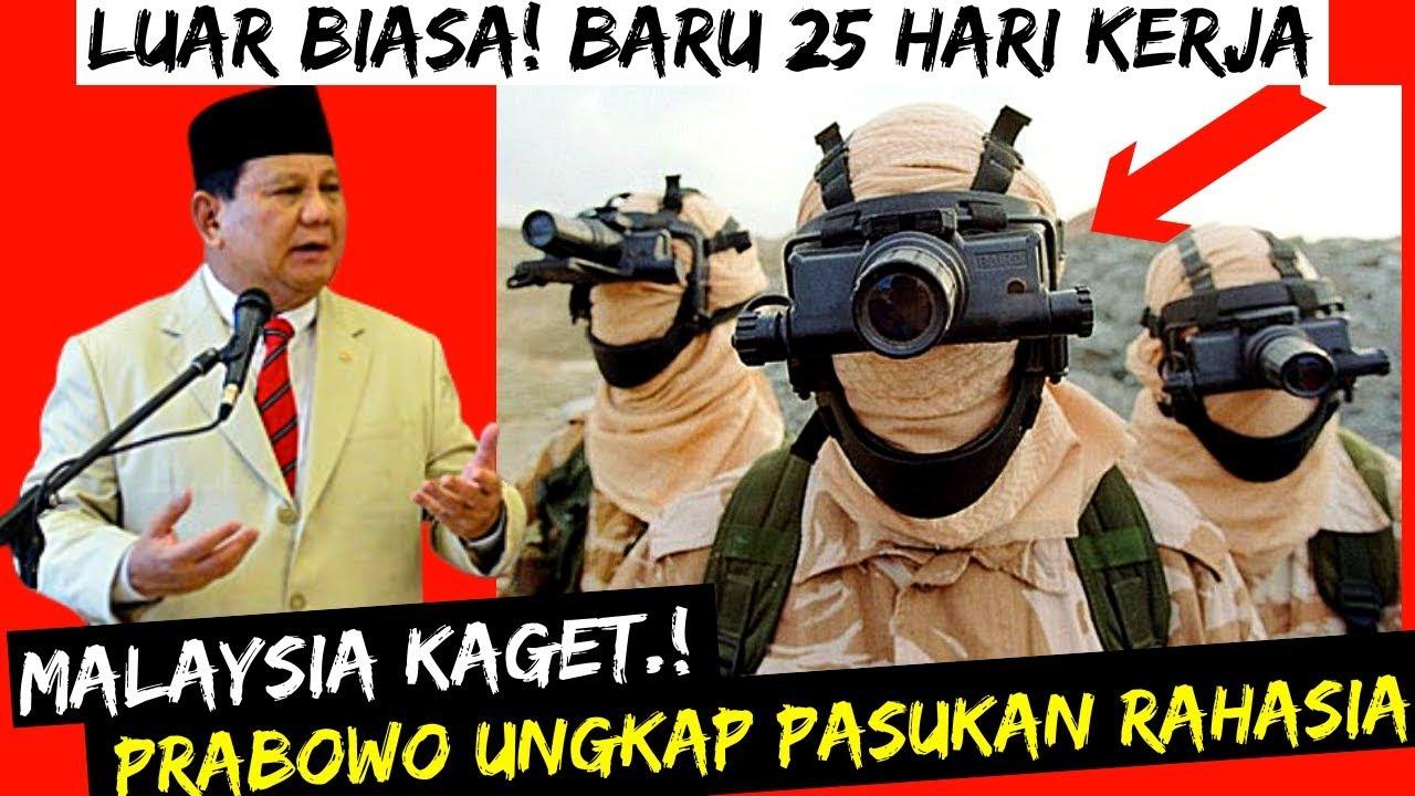 ???? BERITA PRABOWO TERBARU HARI INI 17 November 2019 BERITA TERKINI JOKOWI MALAYSIA PASUKAN RAHASIA