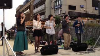 2013/5/25 @三条河原 京都アカペラサークルCrazy Clef所属.