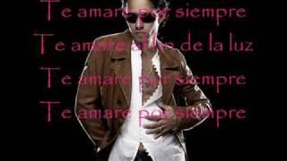 Marc anthony - Te amare por siempre(letra)
