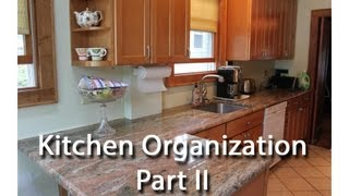 Kitchen Organization - Part Ii