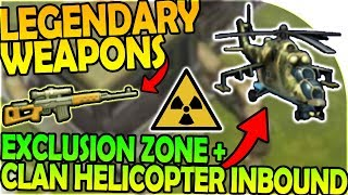 Video LEGENDARY WEAPON + EXCLUSION ZONE + CLAN HELICOPTER INBOUND- Last Day On Earth Survival 1.6.9 Update download MP3, 3GP, MP4, WEBM, AVI, FLV Oktober 2018