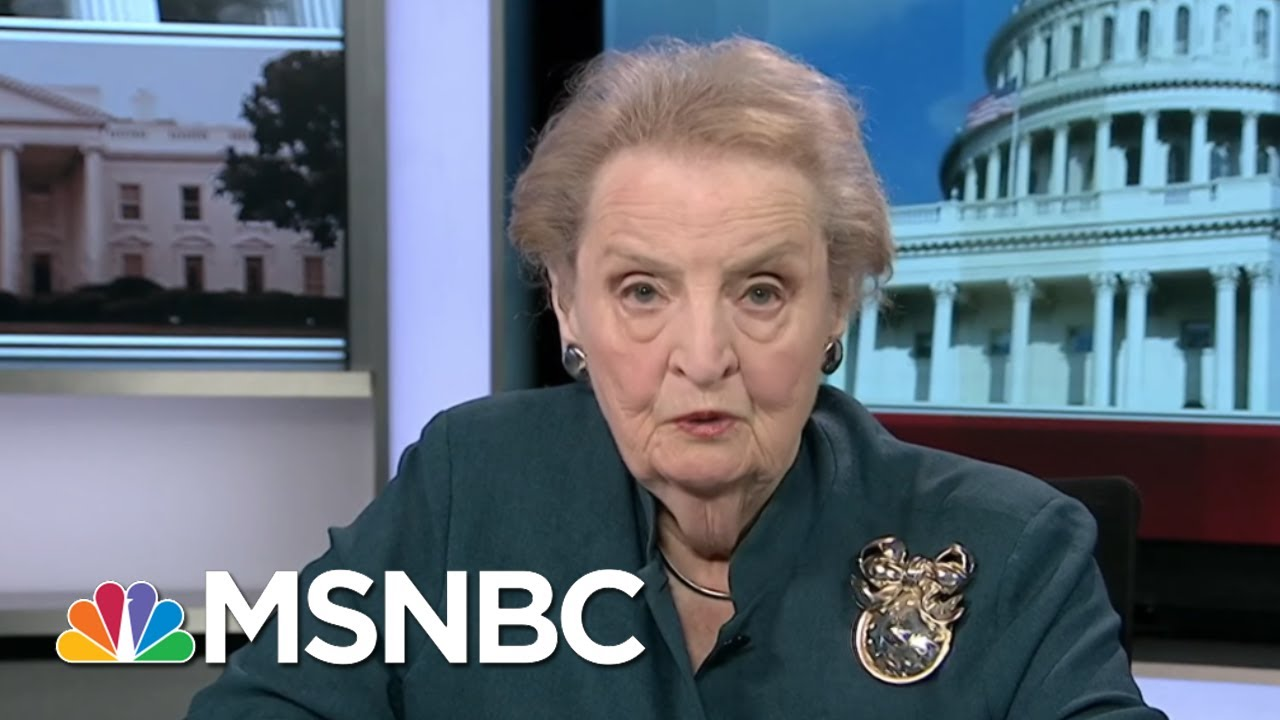 President Donald Trump Behavior In Helsinki 'Un-American': Madeleine Albright | Morning Joe | MSNBC