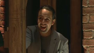Lin-Manuel Miranda talks to Lara Spencer about the Hamilton's success and the show's enrichment project with students from New York City's public schools.