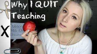 Why I QUIT TEACHING thumbnail