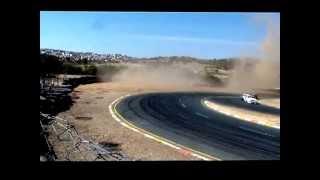 Tony Rust race track Accident Bazil van Rhyn
