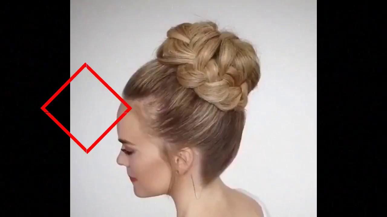Cara Buat Model Sanggul Kepang Cantik Untuk Pesta Youtube