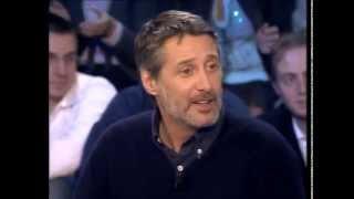 Antoine De Caunes - On n'est pas couché 13 janvier 2007 #ONPC