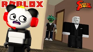 WHO BROKE IN MY HOUSE! Let's Play Roblox Break In with Combo Panda