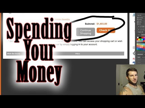 Spending Your Money! First GoFundMe Purchases.