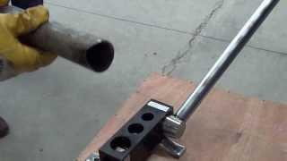 Болтон інструменти - РА1 - керівництво 1/2'' труби вырубным пресом