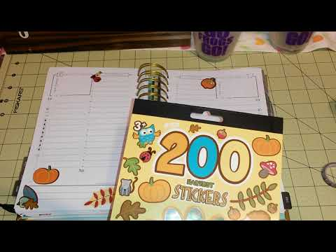Plan With Me Design Group: Inexpensive Start Planner & Thanksgiving/Christmas Planner