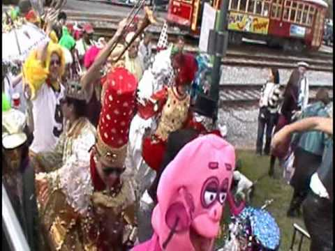 The Excitement Of Mardi Gras New Orleans Second Line Jazz Music Youtube