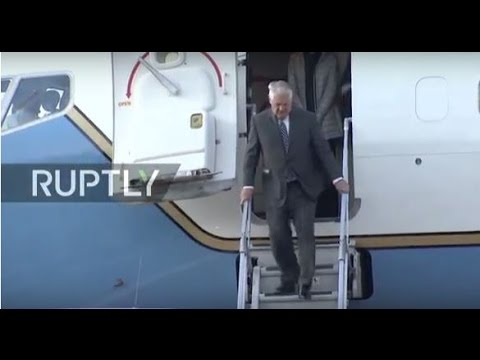 LIVE: US Secretary of State Tillerson arrives in Moscow