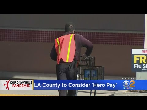 LA County Supervisors Consider $5 'Hero Pay' Bonus For Grocery Store Workers