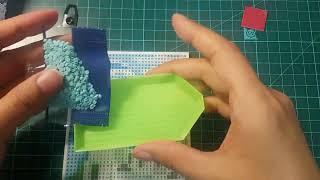 다이소 보석십자수 산토리니 / 취미추천 / 언박싱 / …