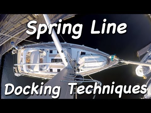 Spring Line Docking Techniques
