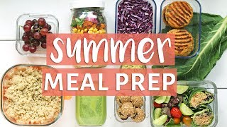 EASY MEAL PREP WITH ME! | Healthy Meal Prep for Summer