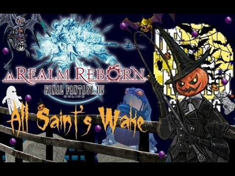 FINAL FANTASY XIV: A Realm Reborn (PS3/PC) - All Saint's Wake Halloween Event Gameplay