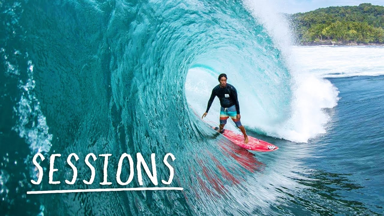 Mikala Jones Surfs the Most Remote Beaches in Indonesia