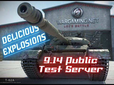 9.14 T.S. – Delicious Explosions - Audio/Physics Impressions || World of Tanks