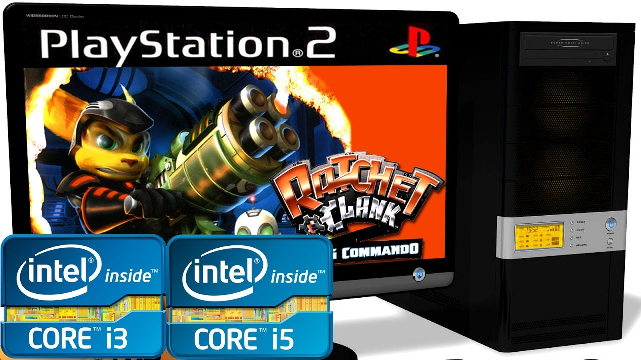 PCSX2 1 5 0 PS2 Emulator - Ratchet & Clank: Going Commando  Core i3 VS Core  i5  Performance Test #9