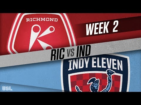 Richmond Kickers vs Indy Eleven: March 24, 2018