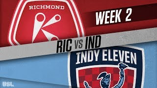 Richmond Kickers vs Indy Eleven full match