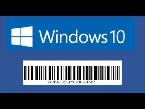 Get Windows 10 Productkey WIN10-WMIC-NIRSOFT-10KEY