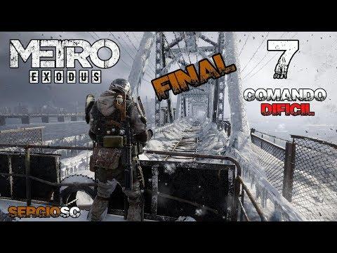 Metro Exodus #7 Dificultad COMANDO DIFÍCIL Ciudad Muerta - Gameplay Directo Español PC STEAM