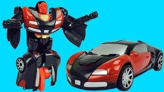 Carro Transformers para Niños ►Carrito Armable