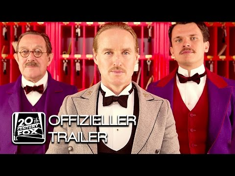 GRAND BUDAPEST HOTEL Trailer Deutsch HD German | Wes Anderson offizieller deutscher Trailer FoxKino