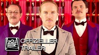 GRAND BUDAPEST HOTEL Trailer Deutsch HD German   Wes Anderson offizieller deutscher Trailer FoxKino