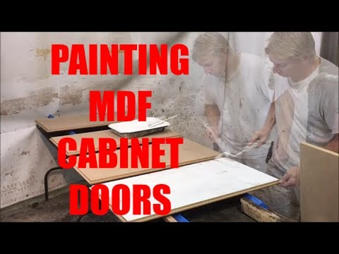 PAINTING MDF CABINET DOORS