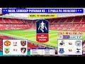 HASIL PIALA FA TADI MALAM ~ MANCHESTER UNITED VS WEST HAM FA CUP 2020/2021