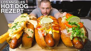 Die KRASSESTEN HOT DOGS aus Los Angeles