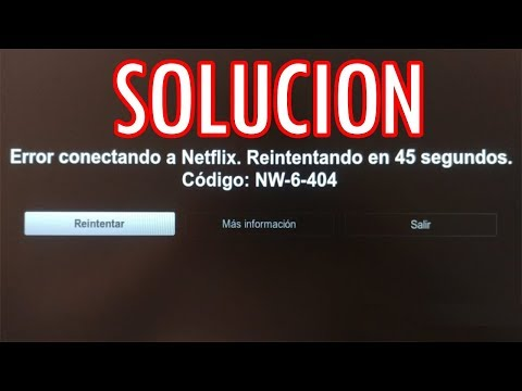 Error Netflix NW-6-404 - Mecool M8S Pro W/L - SOLUCIÓN en Español