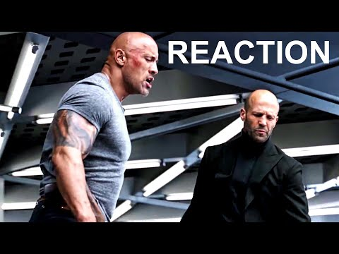 Hobbs & Shaw Trailer Reaction