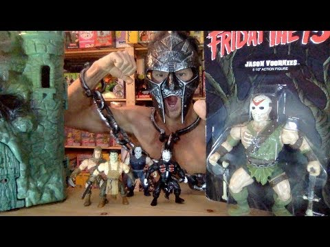 Friday The 13th Jason MOTU Funko no super 7 mattel savage world masters universe