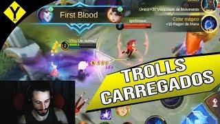 CARREGUEI 2 ADCS TROLL COM ESSA BUILD   Mobile Legends