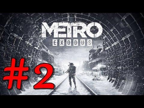 They Saw A Train! Metro Exodus Gold Edition ! Full Game Walkthrough Gameplay #2 |