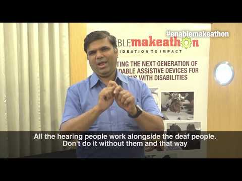 EM2 - Call for applications by Anuj Jain (Director, National Association for Deaf)
