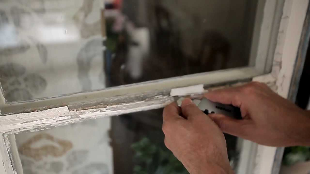 Painting windows step by step youtube - Wood filler or caulk for exterior trim ...