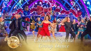Group Dance to 'Step into Christmas' by Elton John - Christmas Special 2017
