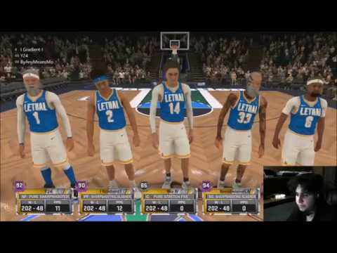 Lethal vs We Are One NBA 2k Comp Games PLAYOFFS MPBA