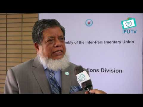 Mr. Md. Fazle Rabbi Miah, MP an Hon'ble Deputy Speaker of Bangladesh (Outdoor)