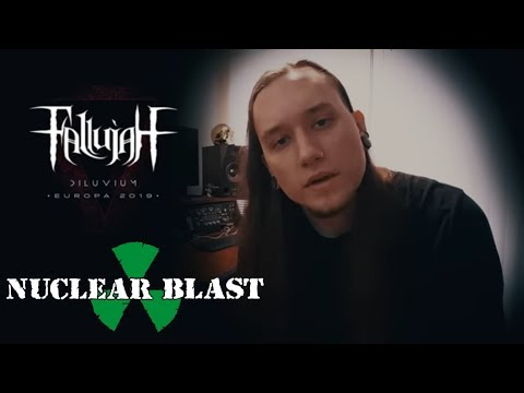 FALLUJAH -  2019 EU Tour with OBSCURA (OFFICIAL TRAILER)