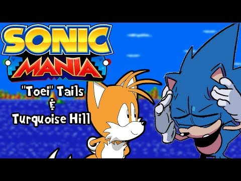 Sonic Mania Mods   Toei/OVA/Hesse Tails in Turquoise Hill Zone