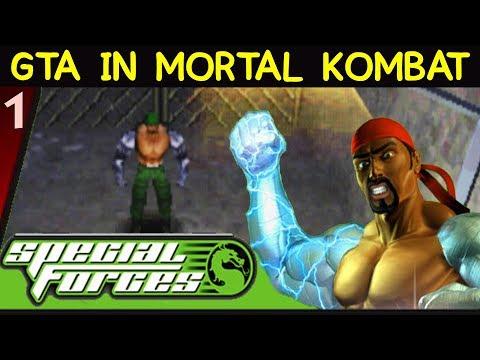 BEST MORTAL KOMBAT GAME EVER! Mortal Kombat: Special Forces Gameplay / Playthrough. Part 1.