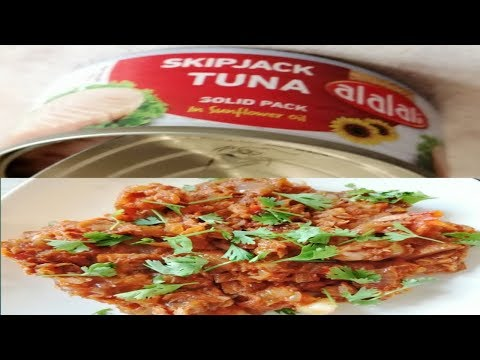 டின் துனா மீன்/Tin Tuna Gravy/tuna Recipe In Tamil/OWN STYLE COOKING